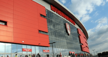 Mansfield and Rotherham Football stadiums (function rooms)