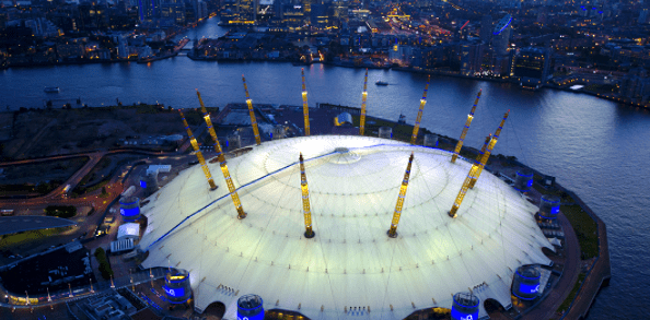 The Dome, (Now O2 Arena) London