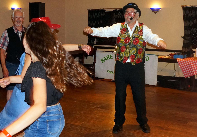 Mike dancing